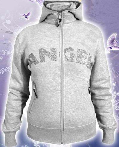 Толстовка женская с капюшоном Ангел арт 42423