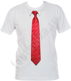 Футболка с 3D галстуком WAVE 50 арт4636 размер S