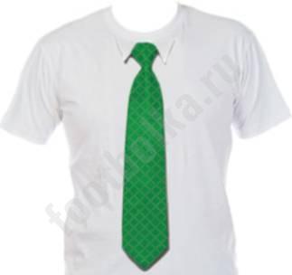 Футболка с 3D галстуком WAVE 50 / 3D-shirt: Габариты: S-XXL см Материал...