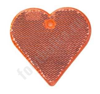 Пешеходный светоотражатель Сердце арт 4701