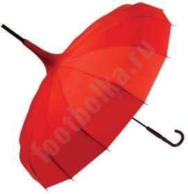 Зонт Пагода черный  арт 4718