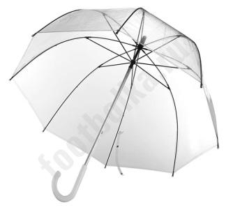 Зонт прозрачный арт5382