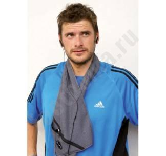 Полотенце для фитнеса SPORT с карманом арт 6356