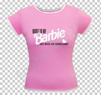 """Футболка  """"Barbie """" - Кликните на картинке чтобы закрыть."""