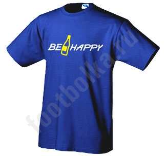 Футболка Be Happy