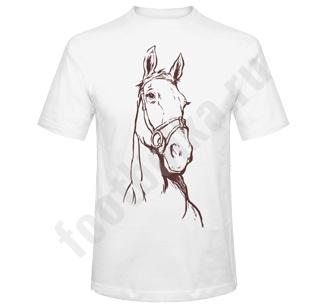 Футболка мужская Лошадка  символ года