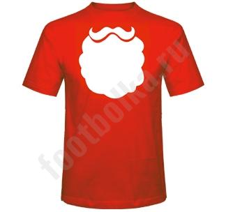 Футболка Борода Деда Мороза