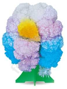 Кристаллы Чудесное дерево разноцветное артCD011bum