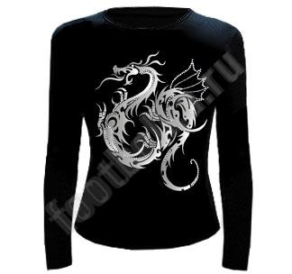 футболка с драконом