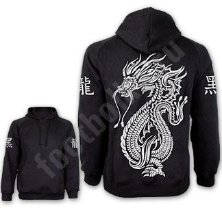 Толстовка с капюшоном Freedom Chine dragon