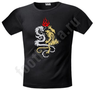 Футболка FREEdom Тигр и Дракон