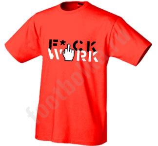Футболка Fck work