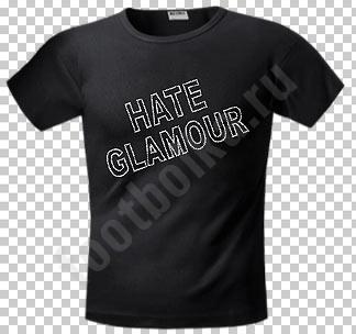 Футболка Hate Glamour стразы swarovski