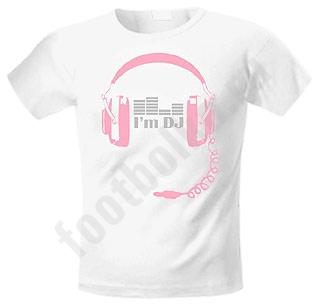 Футболка Im DJ headphones