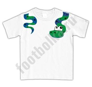 Футболка детская со змеей
