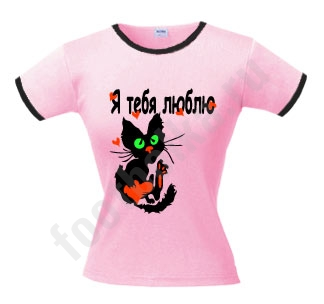 Футболка Love cat