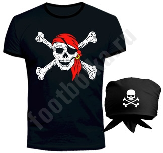 Костюм halloween Пират с банданой