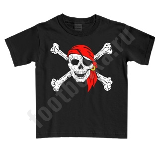 Футболка детская Пират