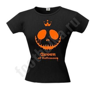 Футболка halloween Queen of Halloween