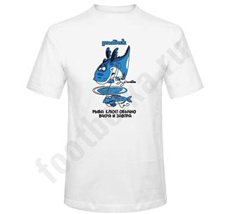 Футболка Рыбак дракон