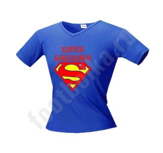 Футболка Супер БАБУШКА супермен