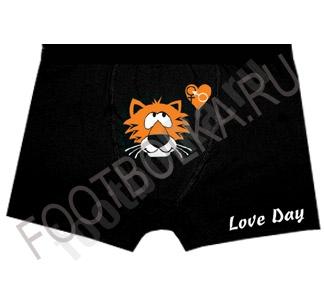 Трусы мужские с тигром Love Day