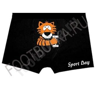 Трусы мужские с тигром Sport day