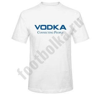 Футболка Vodka connecting People