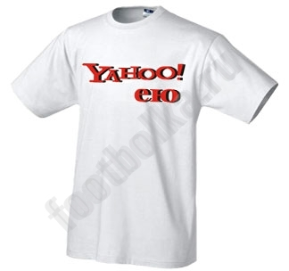 Футболка Yahoo ею