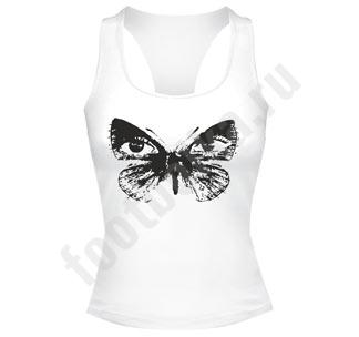Майка  боксерка Глаза бабочки