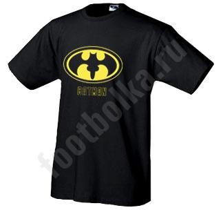 Футболка  Batman надпись