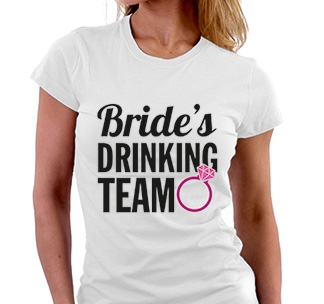 Футболка Brides drinking team
