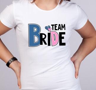 Футболка Team bride  2