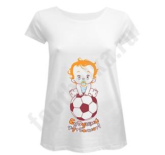 Футболка для беременных Будущий футболист