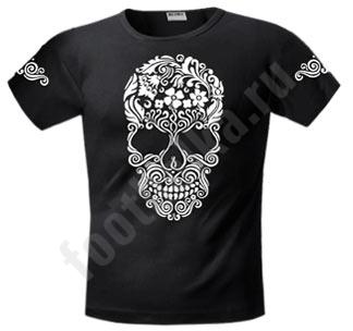 Футболка FREEdom Skull Flower