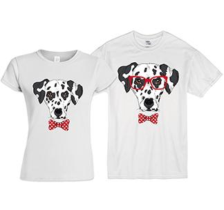 Парные футболки Dalmatin