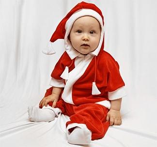 Костюм для фотосессии Дед Мороз детский