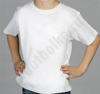 Детская белая футболка
