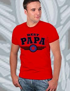 "Футболка ""Best Papa"" фото 1"