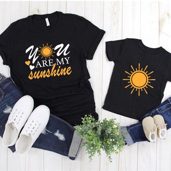 "Футболки для мамы и ребенка ""Sunshine"" alex фото 1"