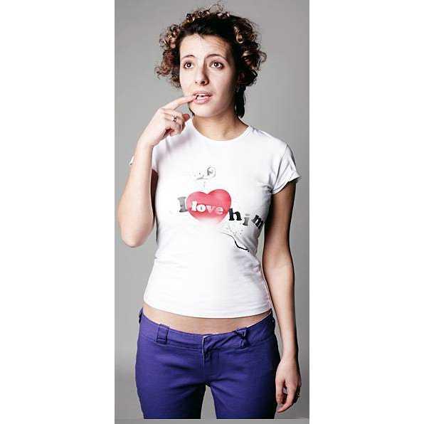 Парные футболки  Люблю ее, люблю его фото 1