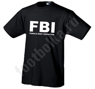"""Футболка  """"FBI """" купить в интернет-магазине, цена."""