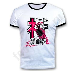 Футболка мужская аниме FEARLESS anime.  Прикольные футболки.
