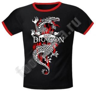 """Футболка FREEdom  """"Fiery Dragon """" - Кликните на картинке чтобы закрыть."""