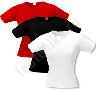 Комплект женских футболок стрейч 3 шт