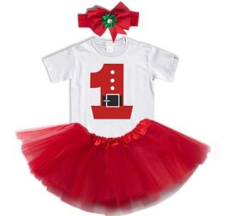 Набор новогодний Цифра 1 юбка и повязка