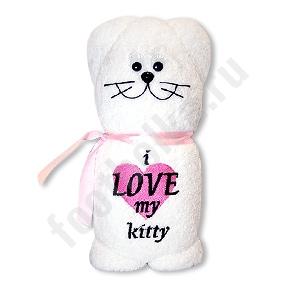 Полотенце I love my kitty