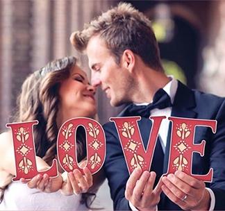 Буквы для фотосессии LOVE