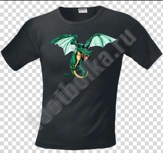 Футболка Изумрудный дракон