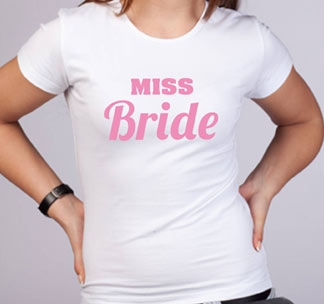 Футболка Miss Bride